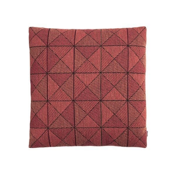 Coussin Tile - Orange - Muuto - Songes - Tile_cushion_red_WB_med-res