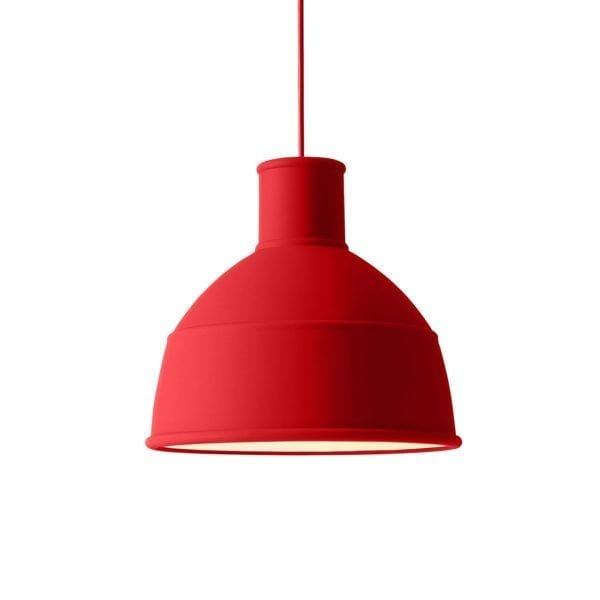 Suspension Unfold - Rouge - Muuto - Songes - Unfold_dustyred