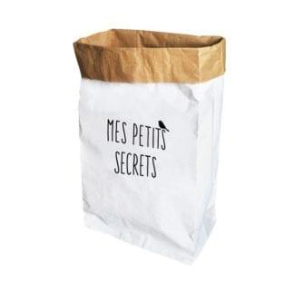 Sac en papier secrets