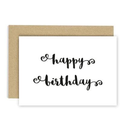 Carte de voeux - Happy birthday