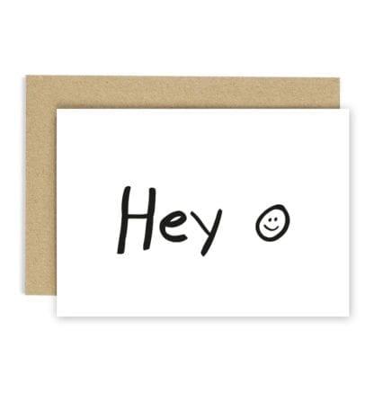 Carte de voeux - Hey