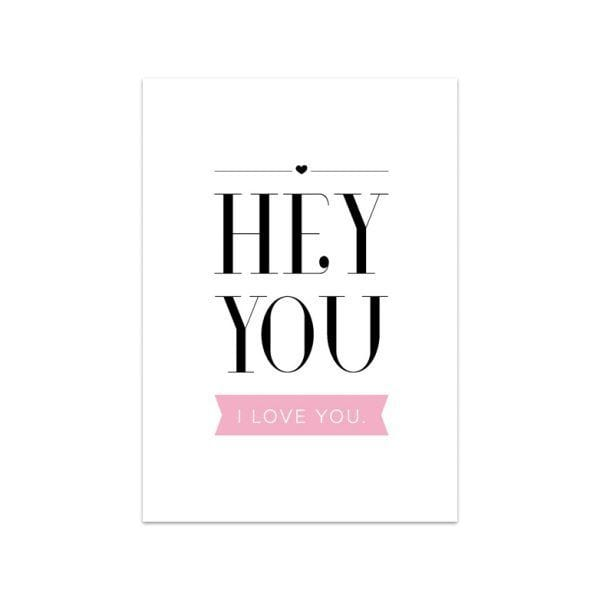 Carte de voeux - Hey you I love you - Songes - Songes - carte-hey-you02
