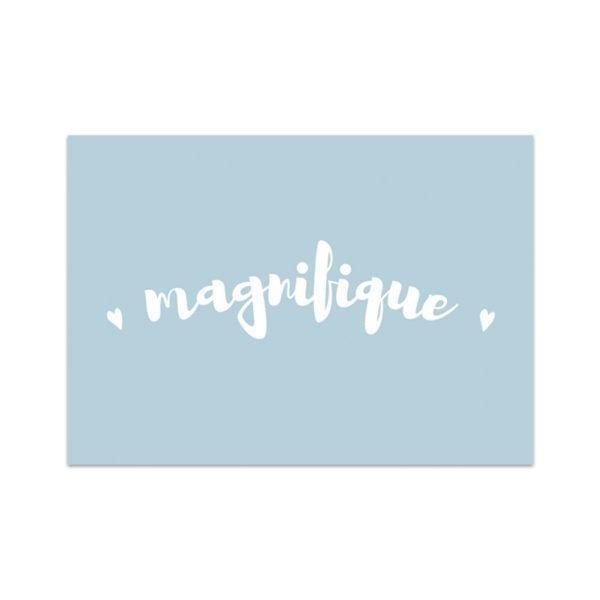 Carte de voeux - Magnifique - Songes - Songes - carte-magnifique