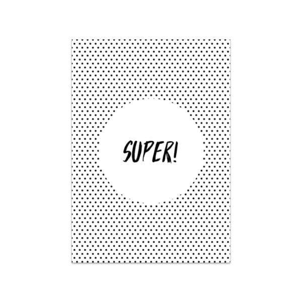 Carte de voeux - Super! - Songes - Songes - carte-super