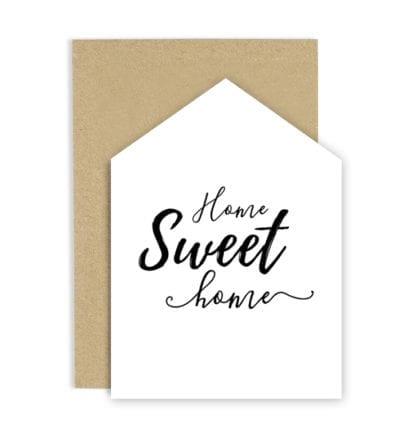 Carte de voeux - Sweet home