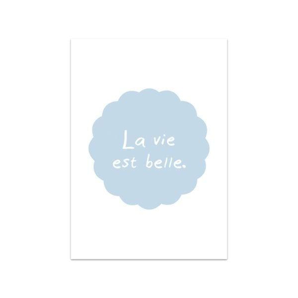 Carte de voeux - La vie est belle - Songes - Songes - carte-vie-belle
