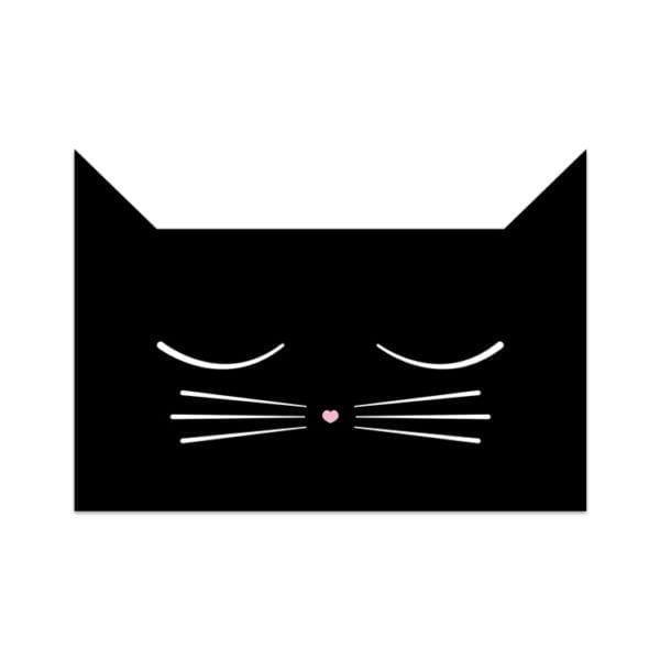 Carte de voeux - Chat - Songes - Songes - carte_chat