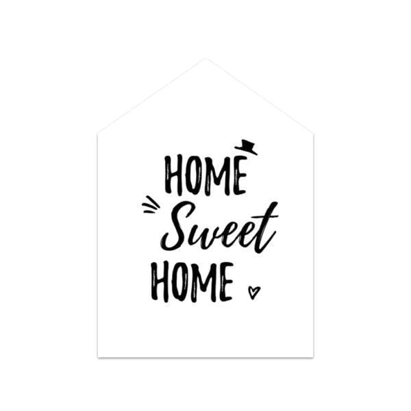 Carte de voeux - Sweet home - Songes - Songes - carte_home