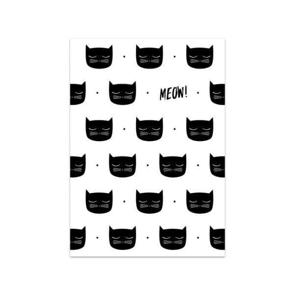 Carte de voeux - Meow - Songes - Songes - carte_meow02