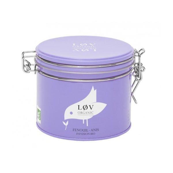 Thé en boîte - Fenouil-Anis - Lov Organic - Songes - fanis100