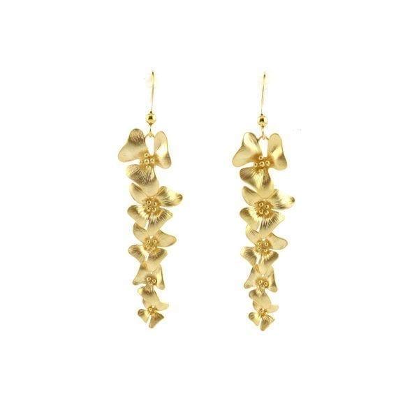 Boucles d'oreilles - Fleurs - Fleur Envy - Songes - la-fleur-charm