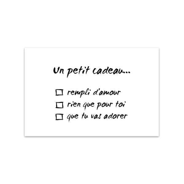 Mini carte de vœux - Cadeau - Songes - Songes - mini_carte_cadeau01