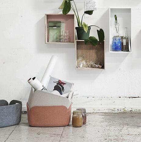 Panier Restore - Vert - Muuto - Songes - Creativ Boards