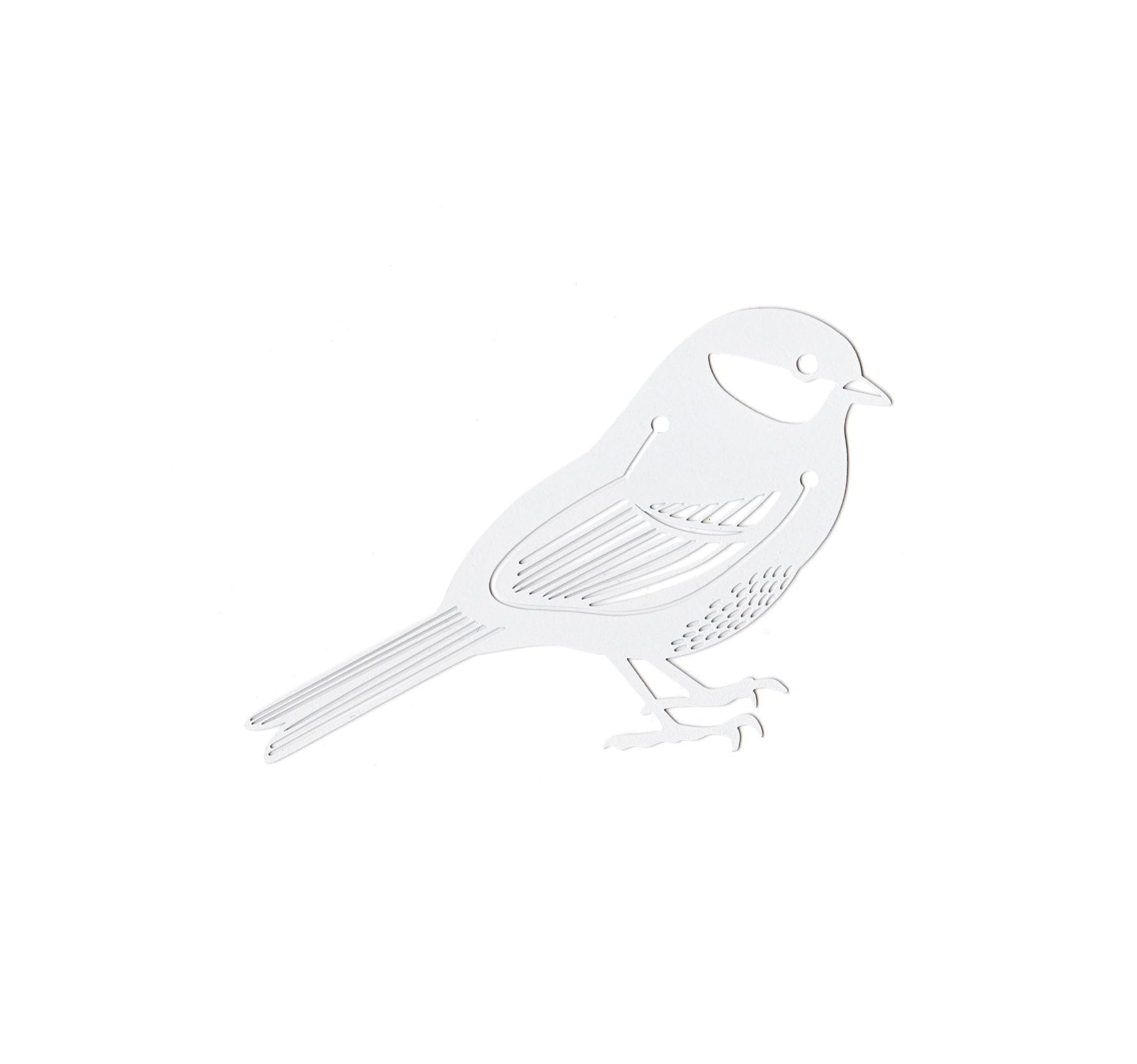 Marque-page - Oiseau blanc