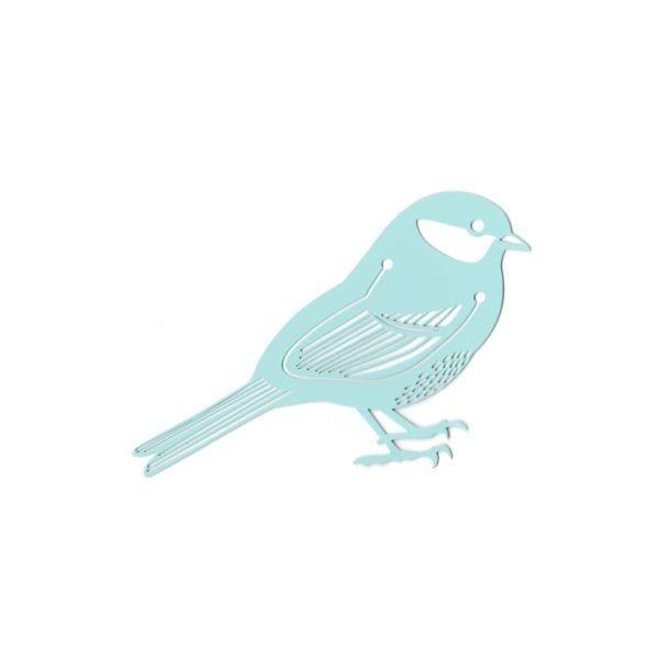 Marque-page - Oiseau bleu - Hommin - Songes - mp-bleu