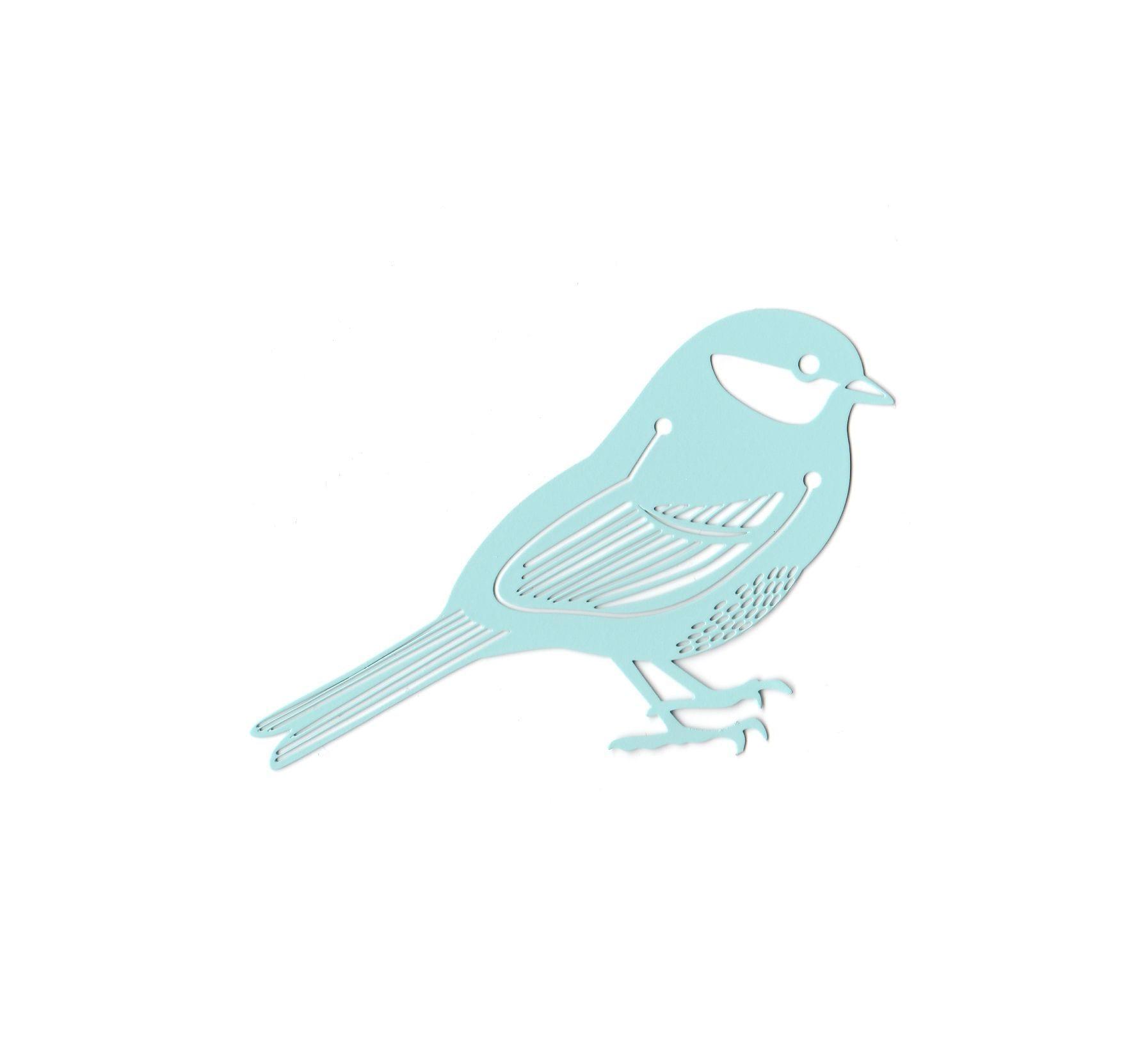 Marque-page - Oiseau bleu