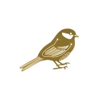 Marque-page - Oiseau doré