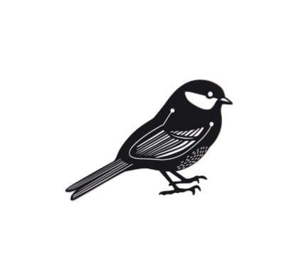 Marque-page - Oiseau noir