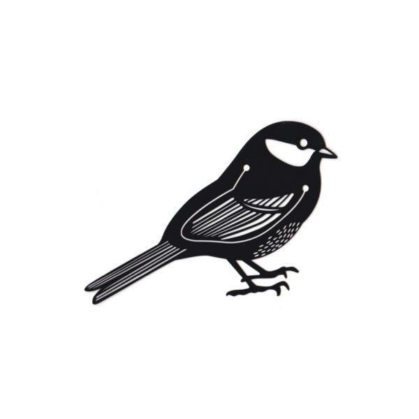 Marque-page - Oiseau noir - Hommin - Songes - mp-noir