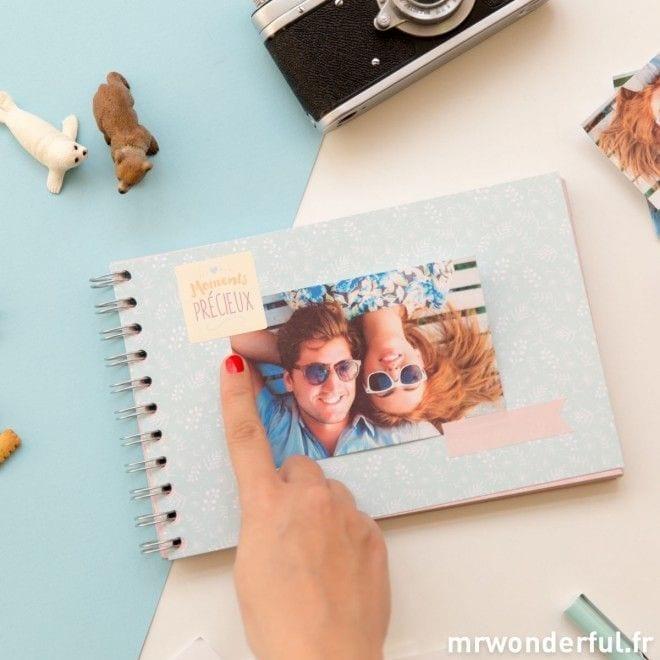 Album photo souvenirs