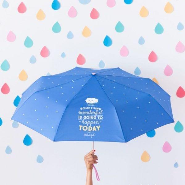 Parapluie - Something wonderful - Mr. Wonderful - Songes - mrwonderful_8435460706933_paraguas_something-wonderful-is-going-to-happen-today-en-6-editar