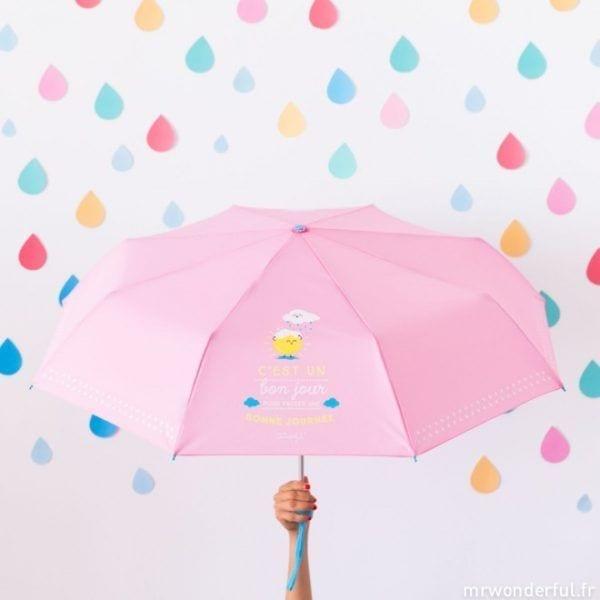 Parapluie - C'est un bon jour - Mr. Wonderful - Songes - mrwonderful_8435460706988_paraguas_cest-un-bon-jour-pour-passer-une-bonne-jounee-fr-10-editar