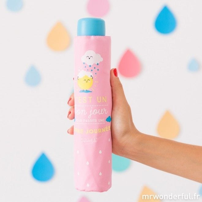 Parapluie rose