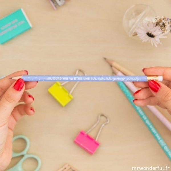 Pack de 4 crayons - Mr. Wonderful - Songes - mrwonderlful_8435460708449_lapices-fr-11