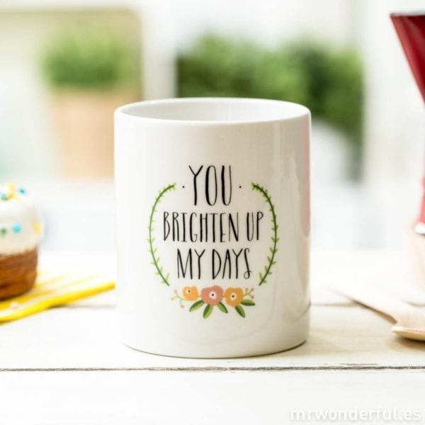 Mug - Brighten up my days - Mr. Wonderful - Songes - mug-bright01