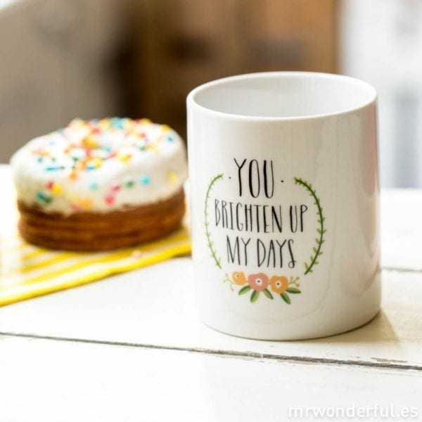 Mug - Brighten up my days - Mr. Wonderful - Songes - mug-bright02