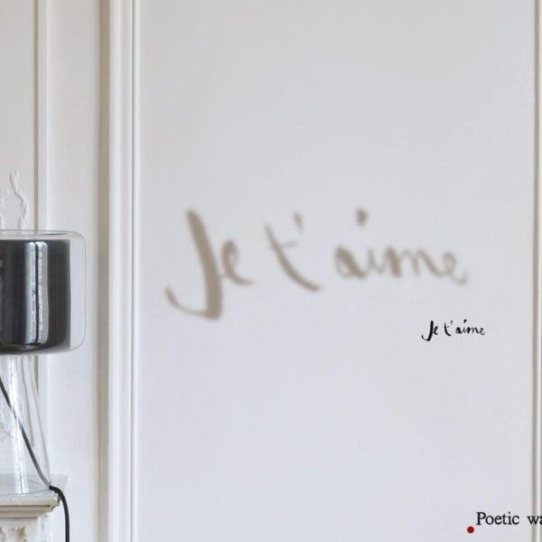 Sticker ombre - Je t'aime - Poetic Wall - Songes - ombre_je_taime