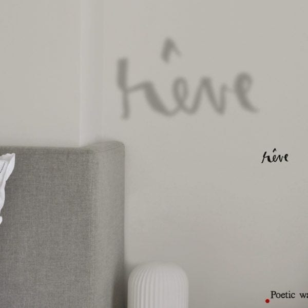 Sticker ombre - Rêve - Poetic Wall - Songes - ombre_reve