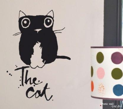 Sticker the cat