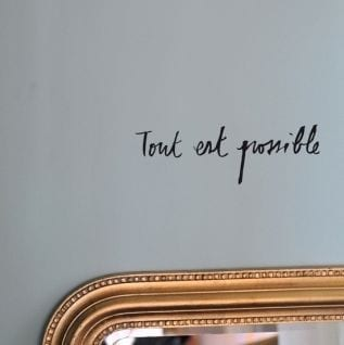 Sticker - Tout est possible - Poetic Wall - Songes - poetic-wall-tout-est-possible