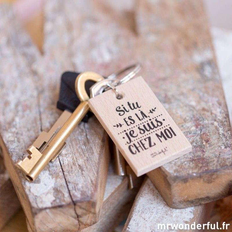 Porte-clés si tu es là