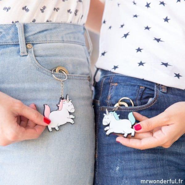 Porte-clés - Licornes - Mr. Wonderful - Songes - porte-clefs-licornes01