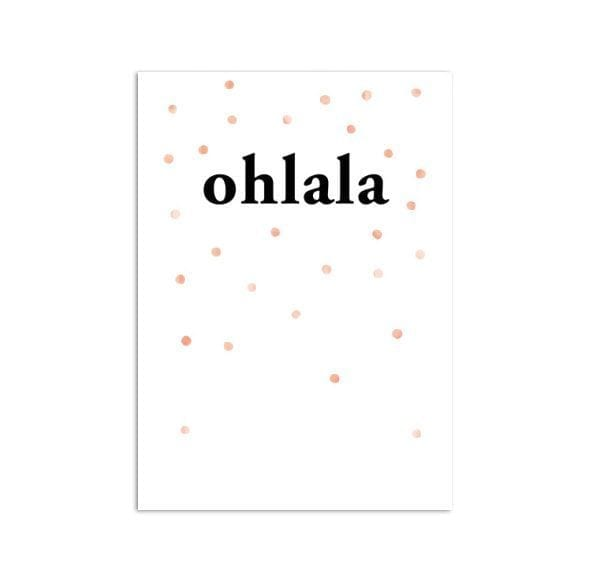 Affiche A3 - Ohlala - Oelwein - Songes - poster-ohlala