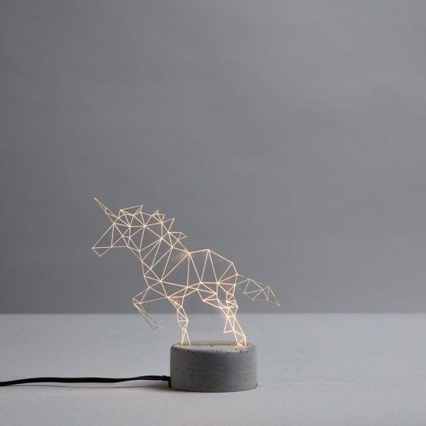 Lampe LED - Licorne - Sturlesi Design - Songes - sturlesi_licorne