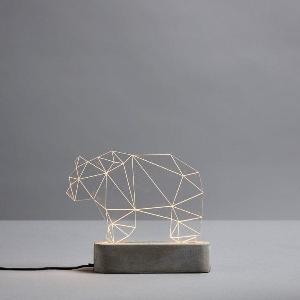Lampe LED - Ours - Sturlesi Design - Songes - sturlesi_ours