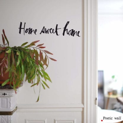 Sticker mural - Home sweet home