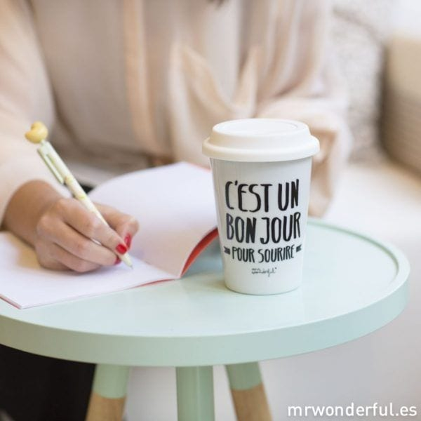 Mug à emporter - Bon jour - Mr. Wonderful - Songes - take-away-bonjour03