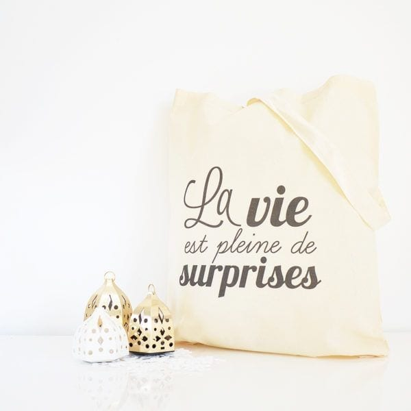 Tote bag - Surprises - Petite Mila - Songes - tote-surprise