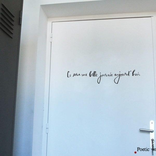 Sticker - Belle journée - Poetic Wall - Songes - une-belle-journee01