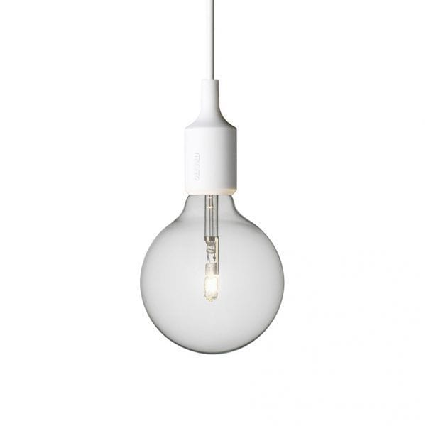 Suspension E27 - Blanc - Muuto - Songes - af6f14c8df4da531466f8768e4bbf762