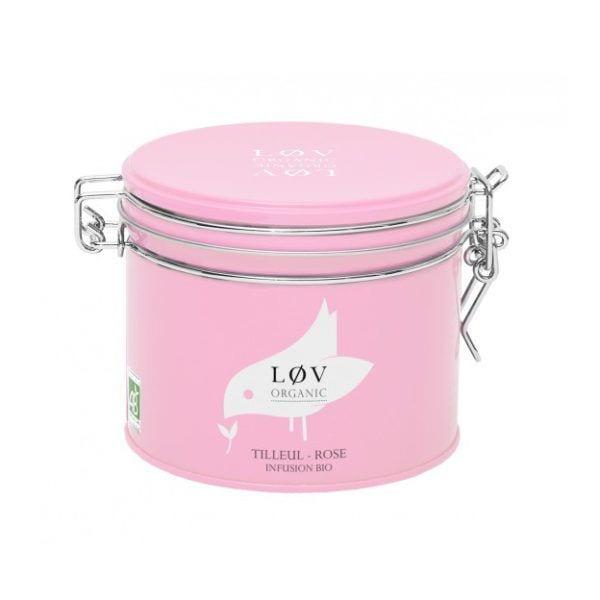 Thé en boîte - Tilleul-Rose - Lov Organic - Songes - TIROS100