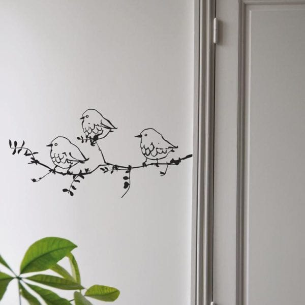 Sticker - Les compagnons - Poetic Wall - Songes - deco-sur-le-mur-et-stickers-sticker-mural-les-compagnons_2759-1