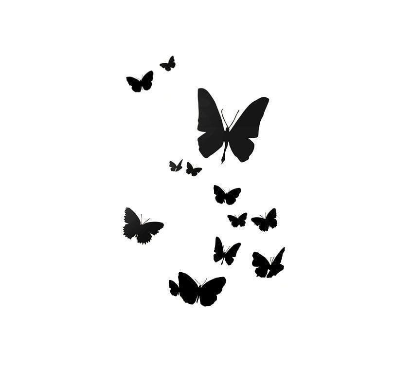Sticker - Grands papillons