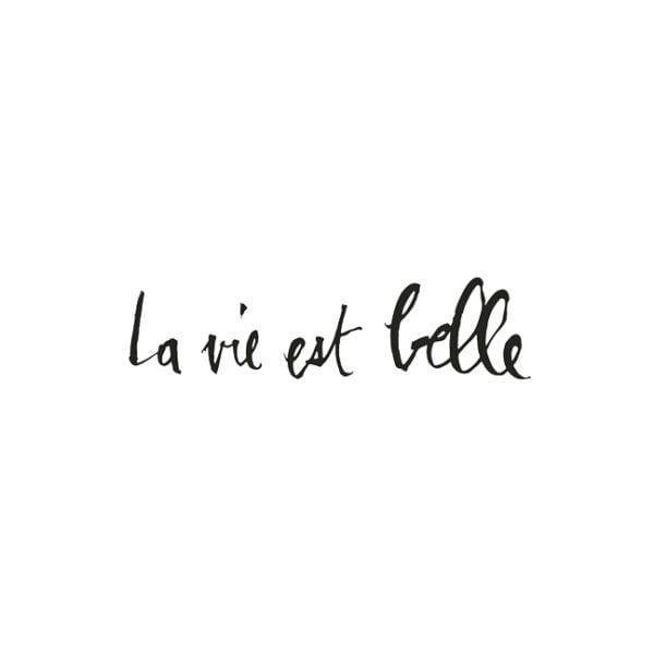 Sticker - La vie est belle - Poetic Wall - Songes - la-vie-est-belle