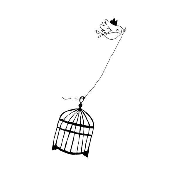 Sticker - Libre - Poetic Wall - Songes - libre