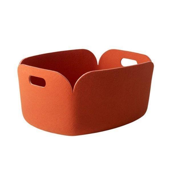 Panier Restore - Orange - Muuto - Songes - restore-orange